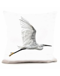Coussin Heron Collection Georges Felix Cohen 40 x 40