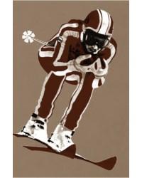 Ski gris Torchon