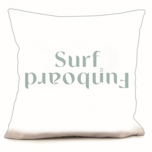 RECTO Coussin Teams Surf vs Funboard 40 x 40