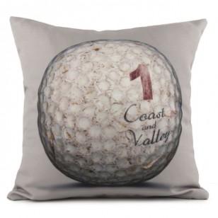 Coussin Golf Ball 1 Gris 40 x 40