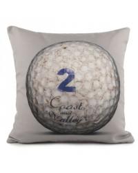 Coussin Golf Ball 2 Gris 40 x 40