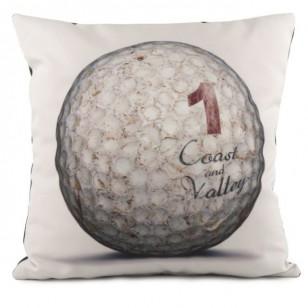 Coussin Golf Ball 1 Blanc 40 x 40