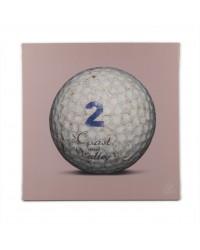 Tableau Golf Ball Rose 2 40 x 40