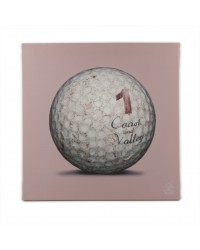 Tableau Golf Ball Rose 1 40 x 40