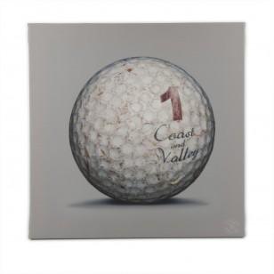 Tableau Golf Ball Gris 1 40 x 40