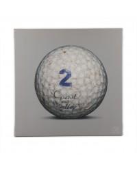 Tableau Golf Ball Gris 2 40 x 40
