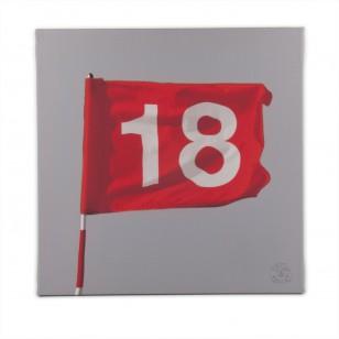 Tableau Trou N°18 40 x 40