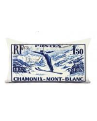 Coussin Chamonix MontBlanc 40 x 68