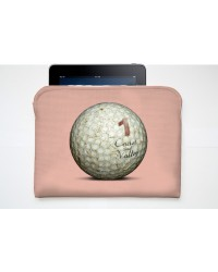 Pochette Tablette Golf Ball Rose